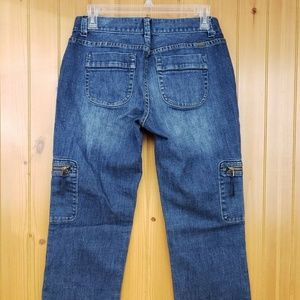 Simply Vera Wang Straight Cropped Jeans Size 4
